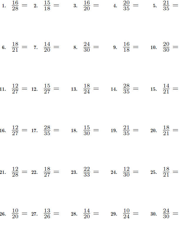 math worksheet : fractions : Simplest Form Fractions Worksheet